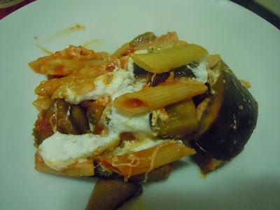 Eggplant Baked Pasta