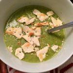 Light(ish) Broccoli Cheddar Soup