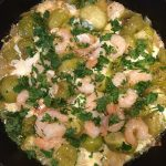 Shrimp in Tomatillo Sauce