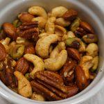 smoky mixed nuts, mixed nuts, edible gifts