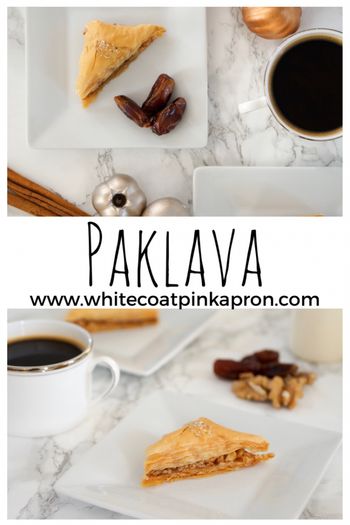 Paklava, baklava, Armenian desserts