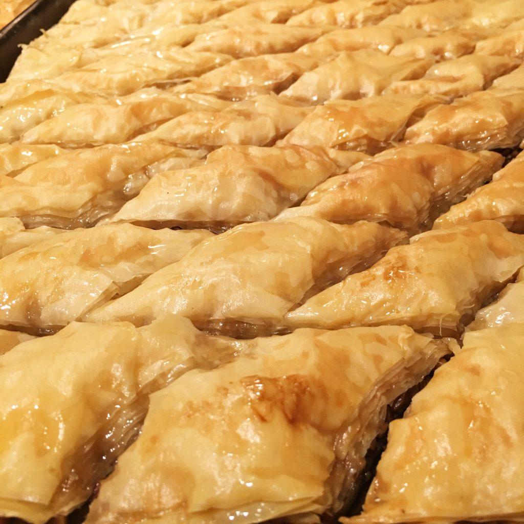 paklava, baklava, Armenian desserts, Lebanese desserts