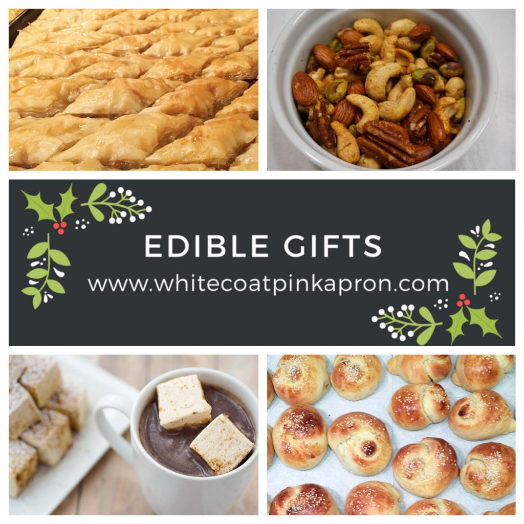Edible gifts, Christmas gifts, holiday gifts, Christmas, food gifts