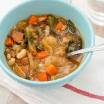 white bean chorizo escarole soup