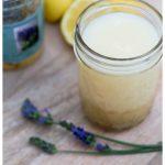 Lemon lavender dressing