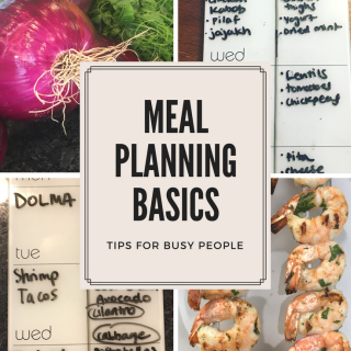 Meal Planning Basics: Tips for Busy People