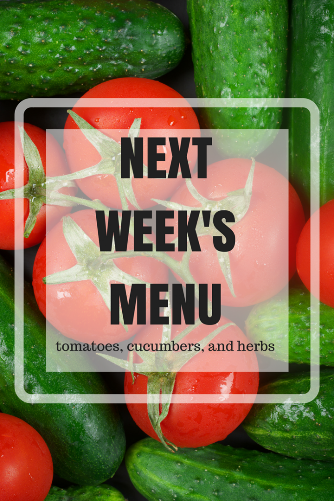 tomato cucumber recipes