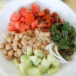 Bulgur Bowls with Tahini Dressing