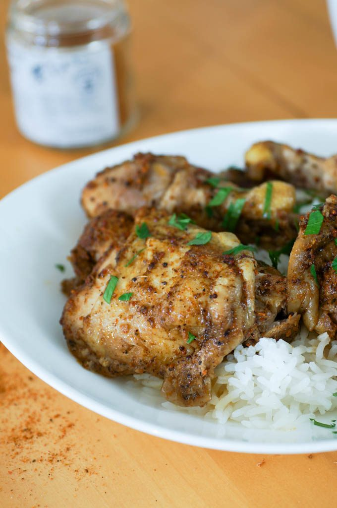 Jamaican-Inspired Instant Pot Chicken