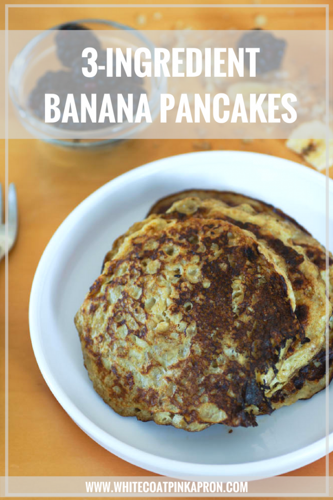 Three-Ingredient Banana Pancakes