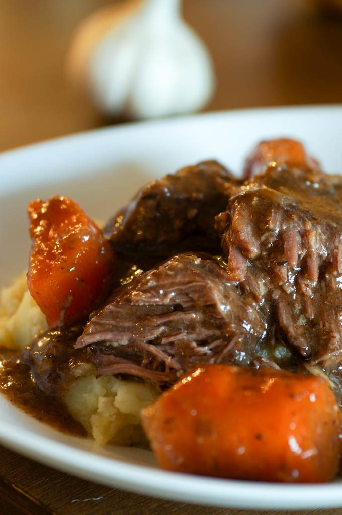 Beer and Brown Sugar Braised Short Ribs