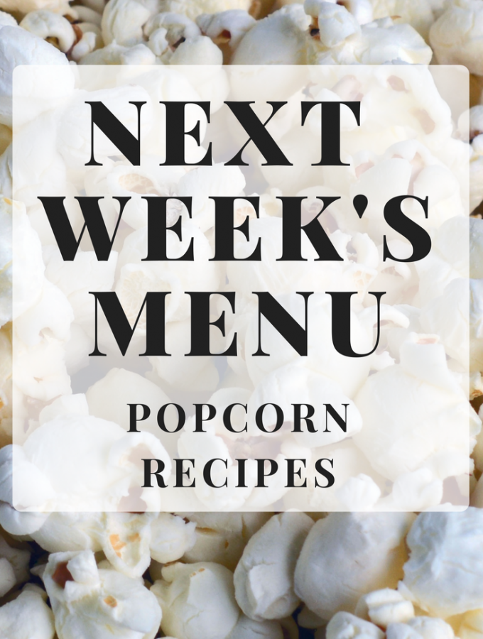 A roundup of sweet and savory popcorn recipes! #popcorn
