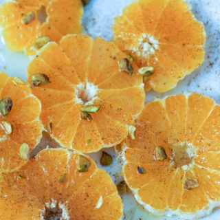 Cinnamon Oranges Recipe