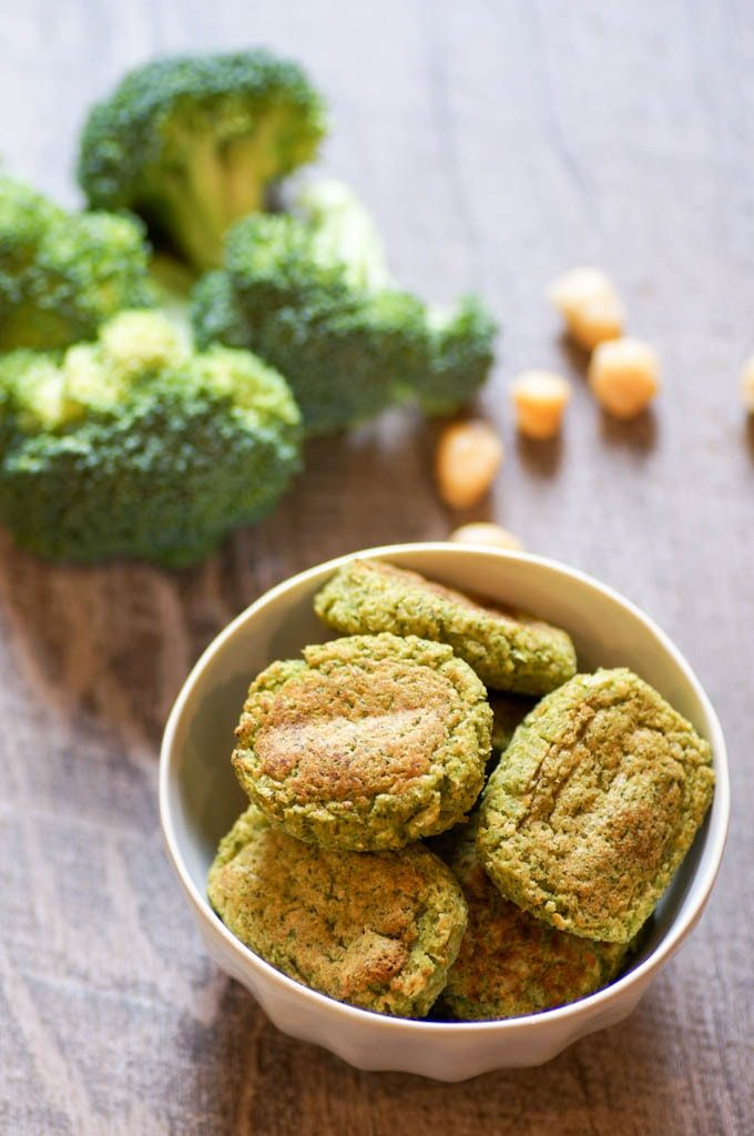These Broccoli Tots with chickpeas are full of fiber and protein, and are completely vegan! With only 4 ingredients and minimal prep, there's no reason not to try them.