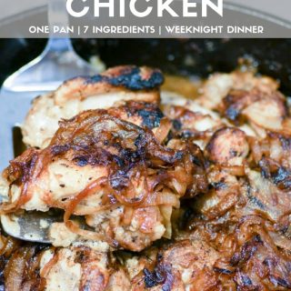 Easy French Onion Chicken