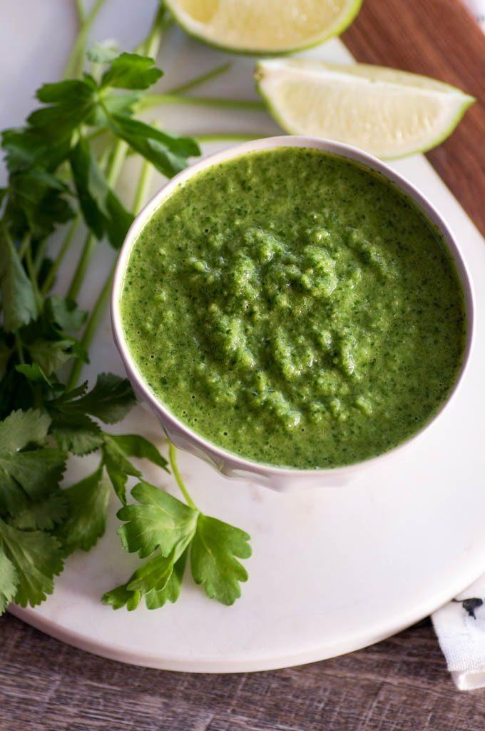 Green Cucumber Sauce