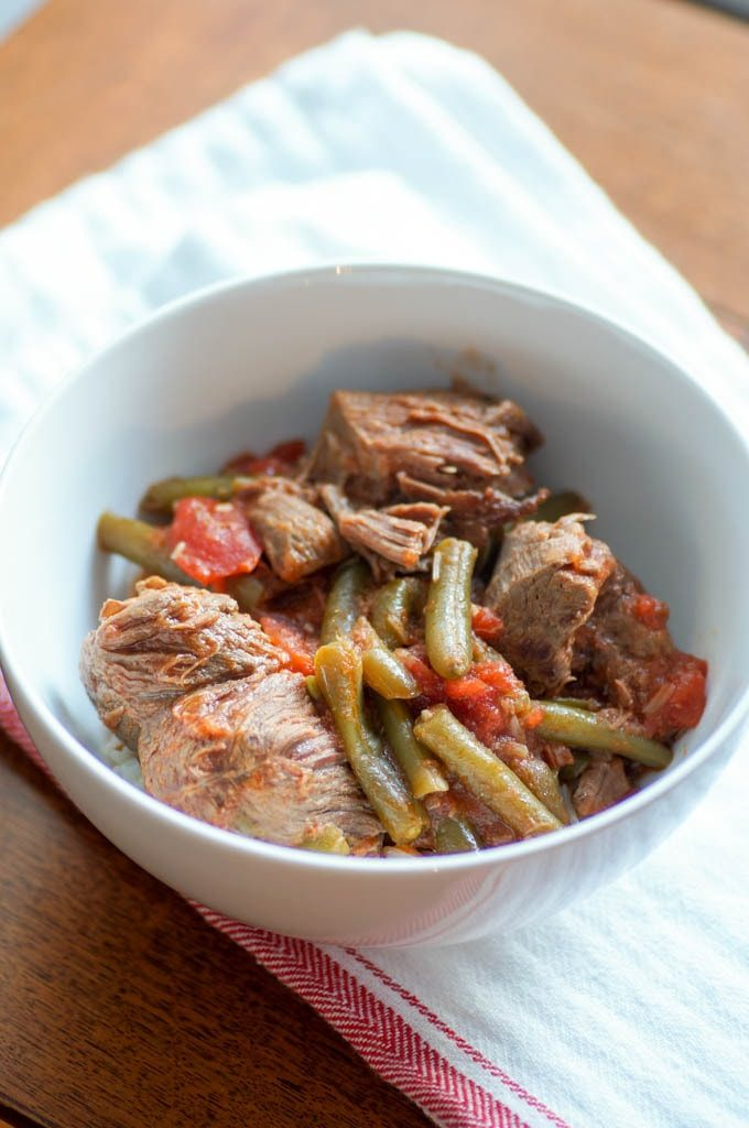 Instant Pot Lamb and Green Bean Stew, or Fasoolya, is a quicker version of a classic Armenian and Middle Eastern dish.