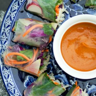 Easy Vegan Summer Rolls