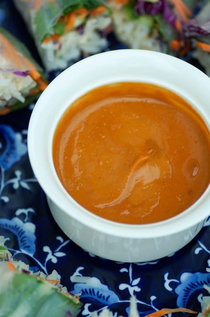 peanut dipping sauce