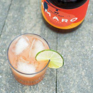 Grapefruit Amaro Cocktail