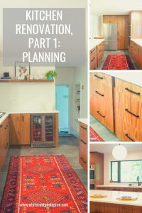 The ultimate guide to planning your kitchen renovation! #kitchenrenovation #mcm #midcenturymodern