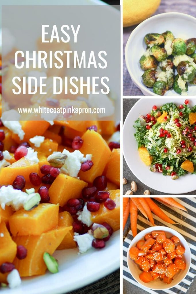 It's not too late to try some of these EASY Christmas side dishes! No-cook, stovetop, and oven options for everyone's tastes. #christmassidedishes #nocooksidedishes #stovetopsidedishes #easychristmas #easyholiday